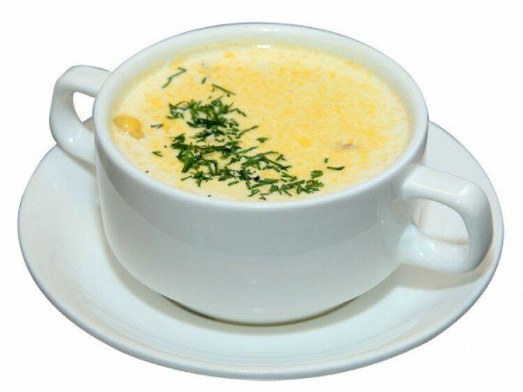 рецепт сырного супа из твердого сыра