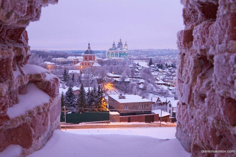 Зимний Смоленск