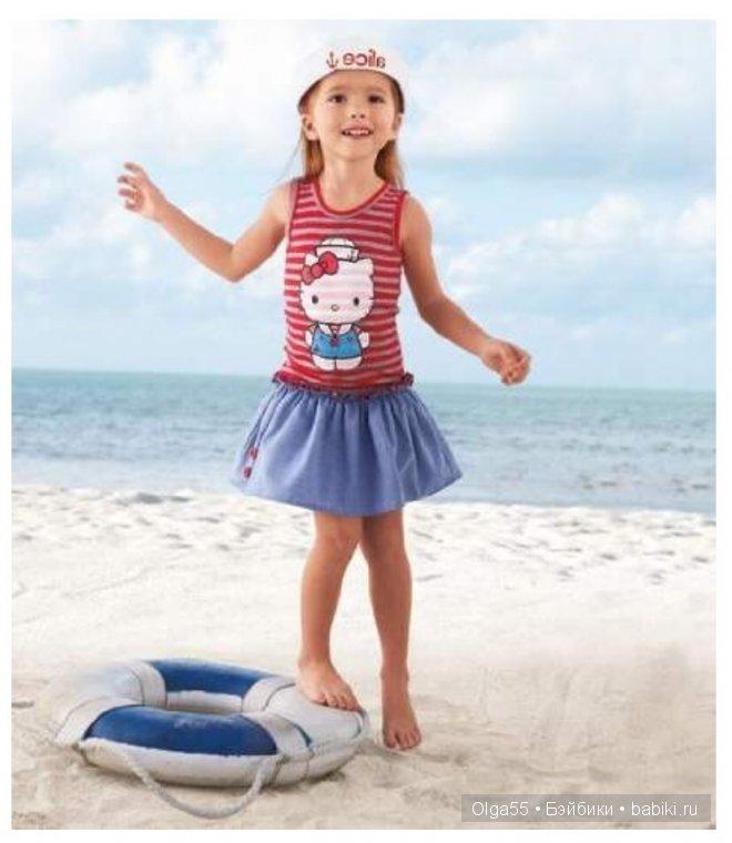 Морской стиль в одежде детям фото
