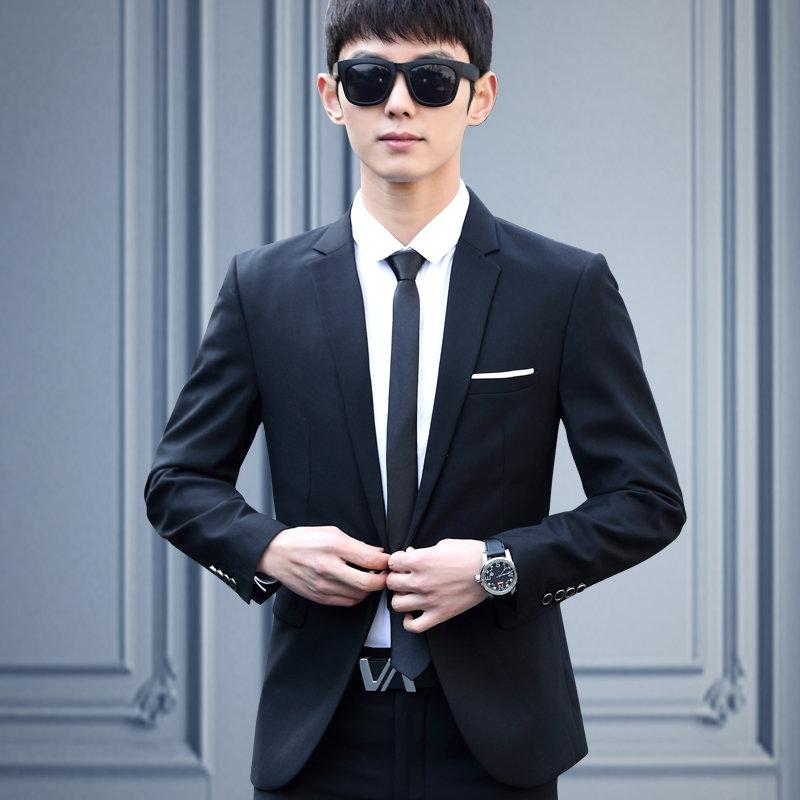 Свадебный костюм чёрный