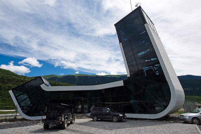 Аэропорт имени царицы Тамары (Местиа, Грузия)