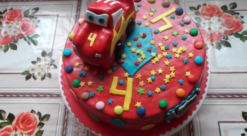 Торт молния маккуин фото рецепт