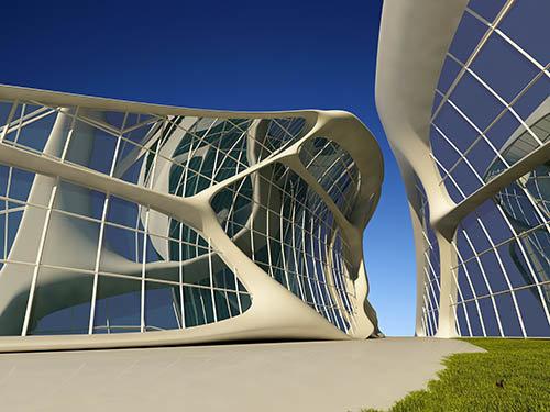 Растровый клипарт - Современная архитектура 2 » Всё для ... Растровый клипарт - Современная архитектура 2