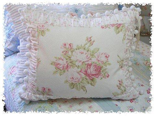 Подушки в стиле шебби-шик - Домашний hand-made Винтажные подушки