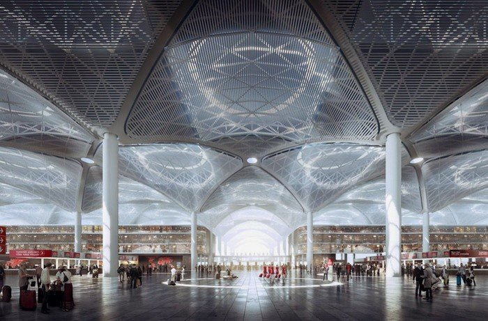 Istanbul New Airport - третий аэропорт Стамбула