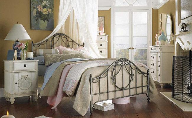 Спальня в стиле Шебби Шик – Уютная спальня Спальня в стиле Шебби Шик