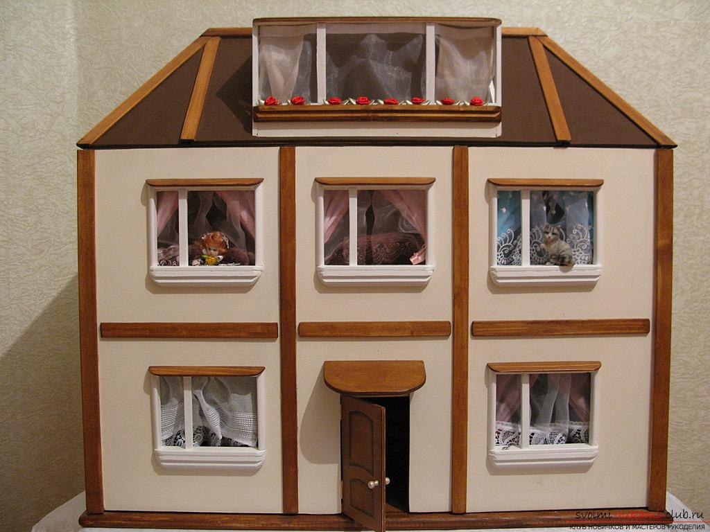 Детские домики своими руками из бумаги фото 441