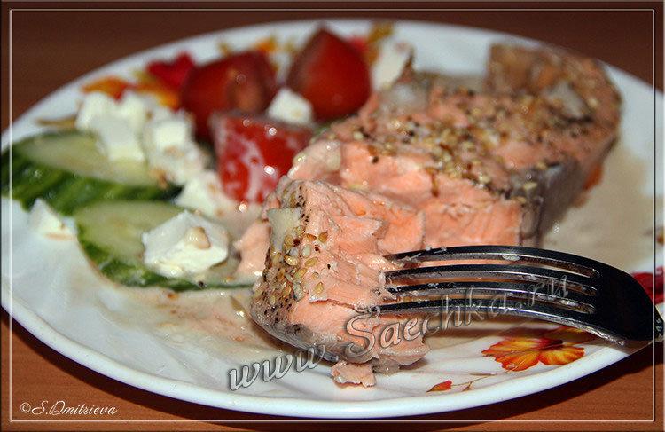 Красная рыба полезные свойства и витамины калории и состав