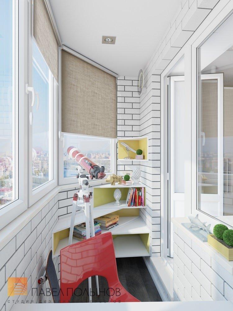 """Дизайн лоджии в проекте """"интерьер квартиры в жк """"красногорск."""