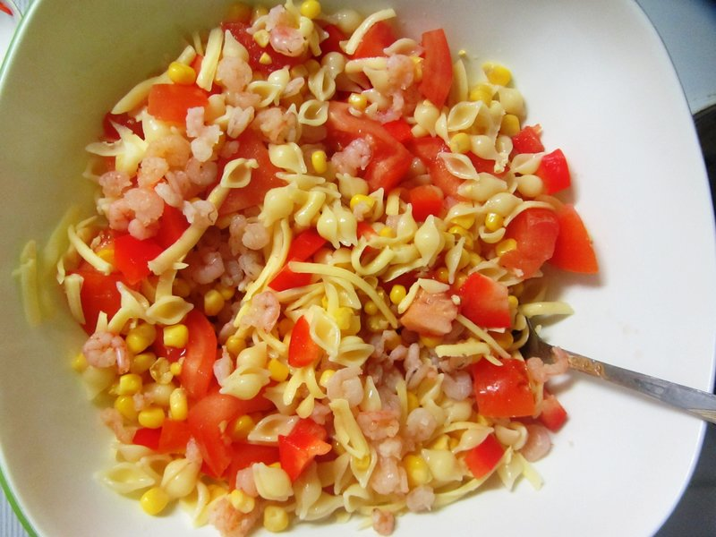 фото рецепт салата с ветчиной