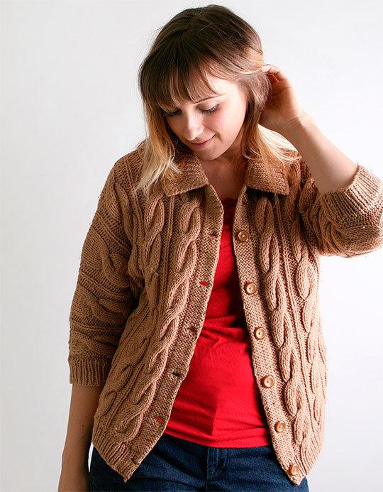 Модные Вязаные Кофты 2015