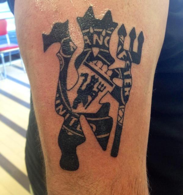 Татуировки футбольных клубов манчестер юнайтед