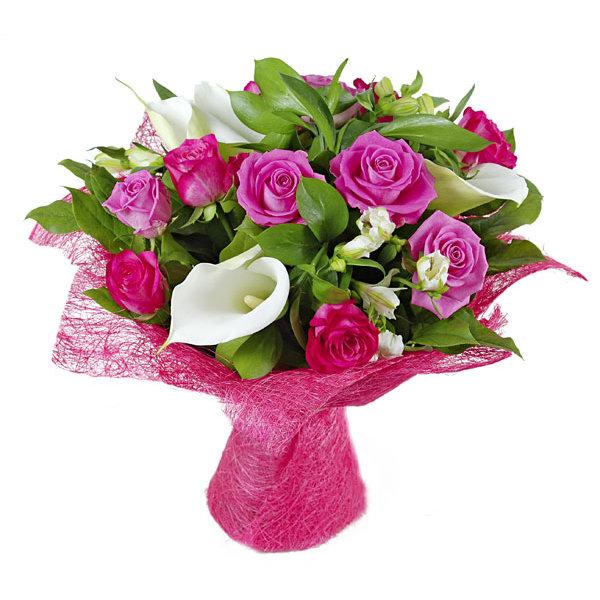 Цветы магнолии, букет для коллеги женщины