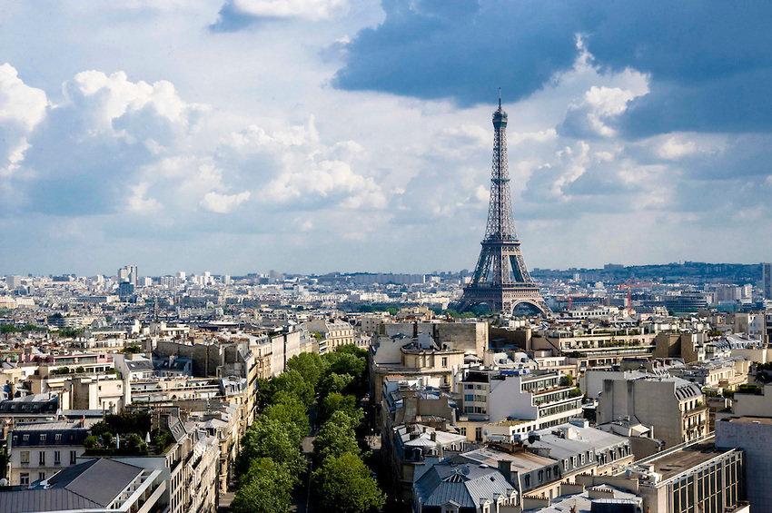 Картинка вид парижа
