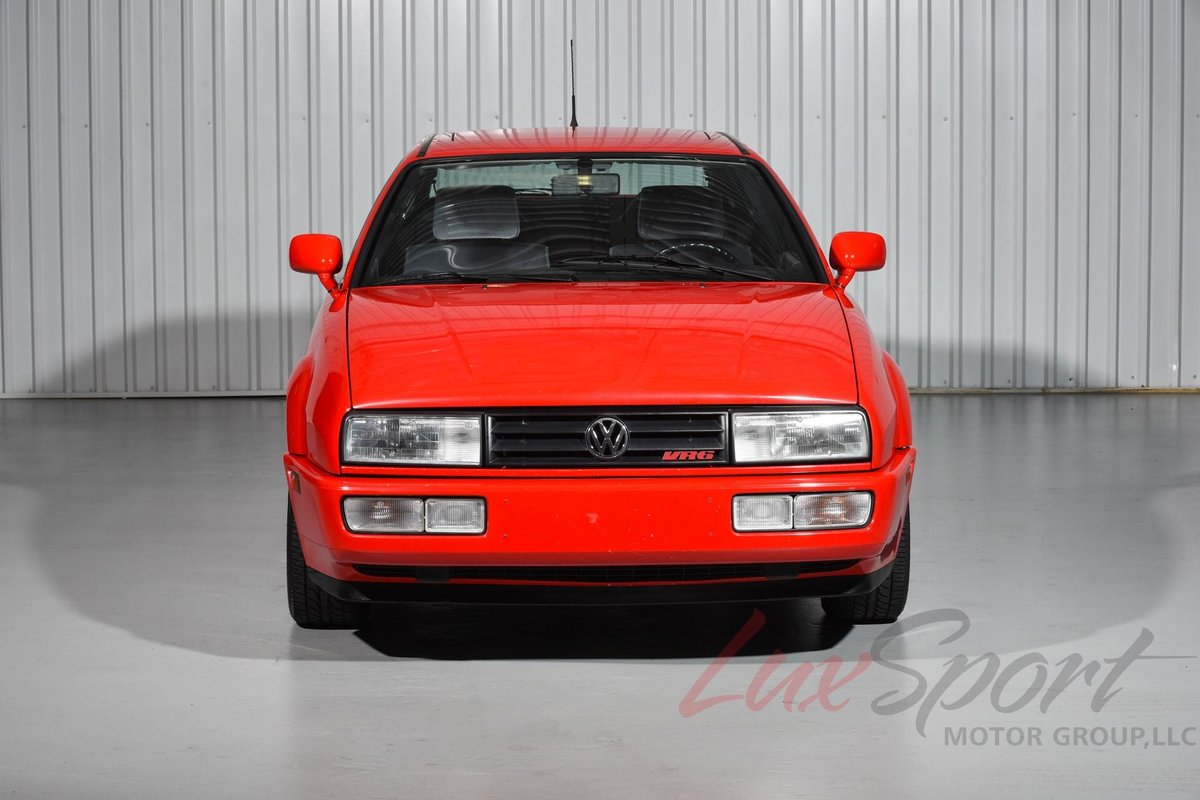 1993 Volkswagen Corrado Slc Vr6 German Cars For Sale Blog Card