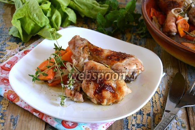 Курица красным вином рецепт фото