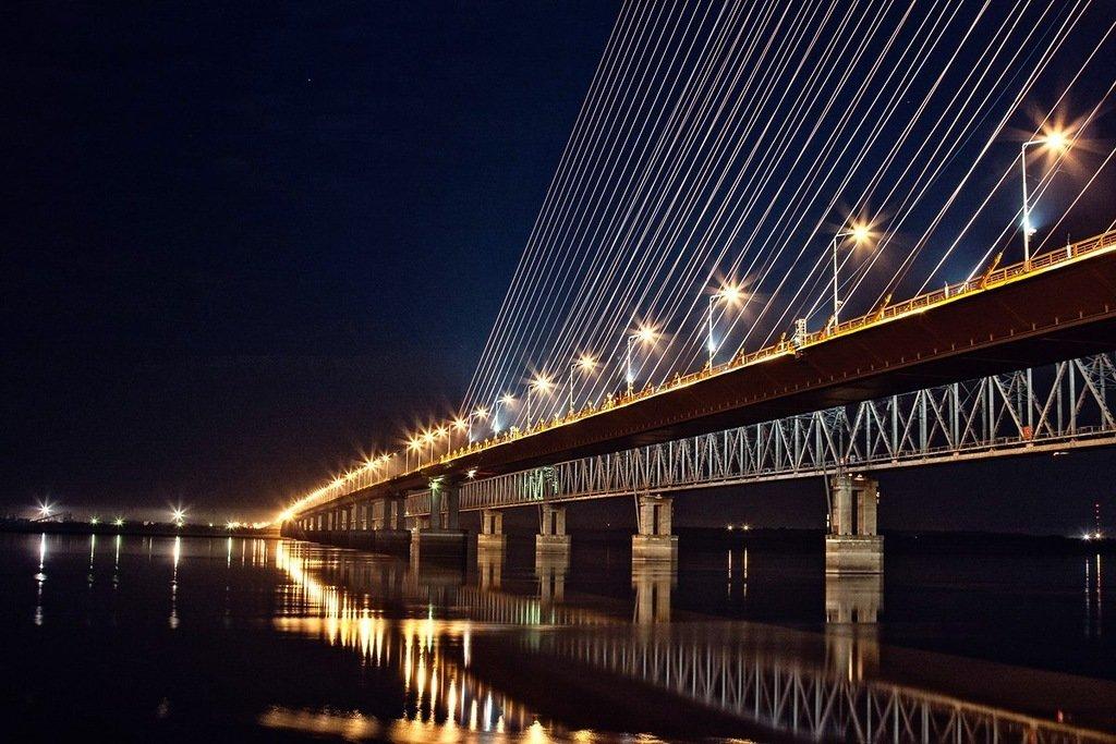 нас сургутский мост через обь фото классического стиля зачастую