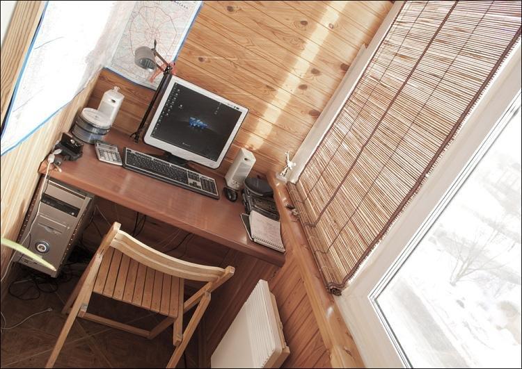 Как из балкона сделать кабинет