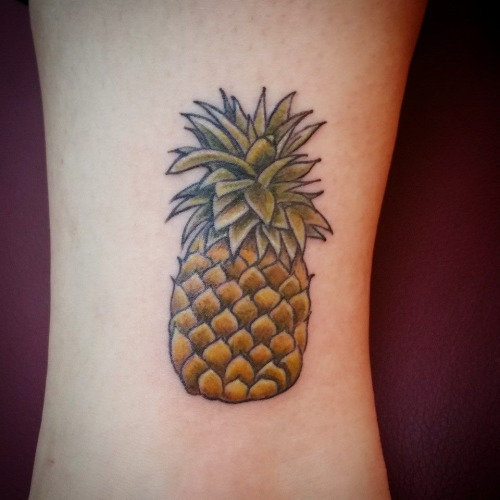 pineapple-tattoos   Tumblr lil pineapple done by Rachelle Carroll at Ascending Lotus Tattoo