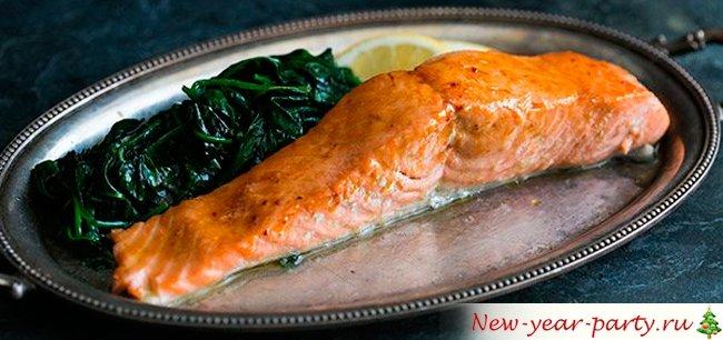 как пожарить стейк из лосося на сковороде