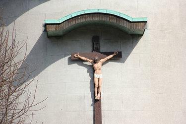 католическое распятие