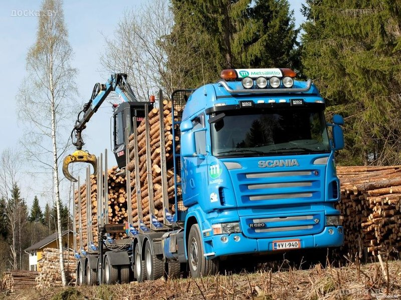 Scania R620 6x4 Highline Timber Truck