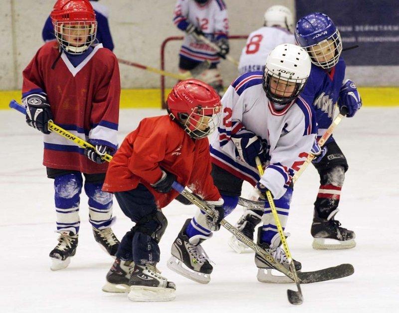 Детский хоккей | Киров Калужской области городской сайт