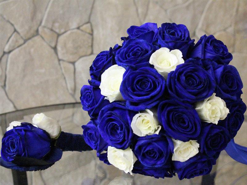 Букет из синих роз на свадьбу, букеты тюльпанами фото