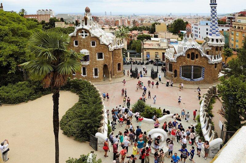 Парк Гуэль (Барселона, Испания)