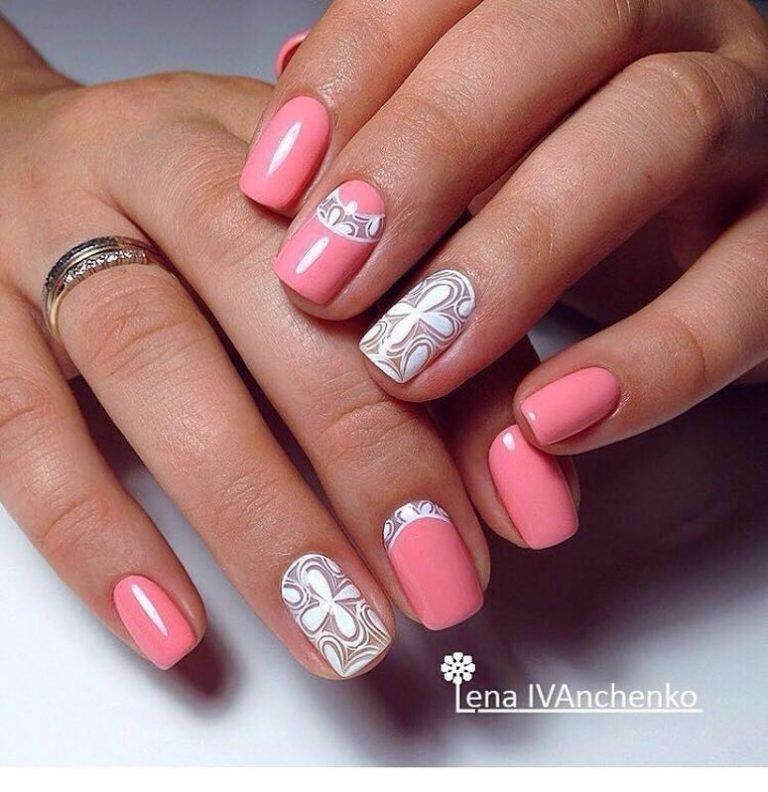 Маникюр фото дизайн на свои ногти