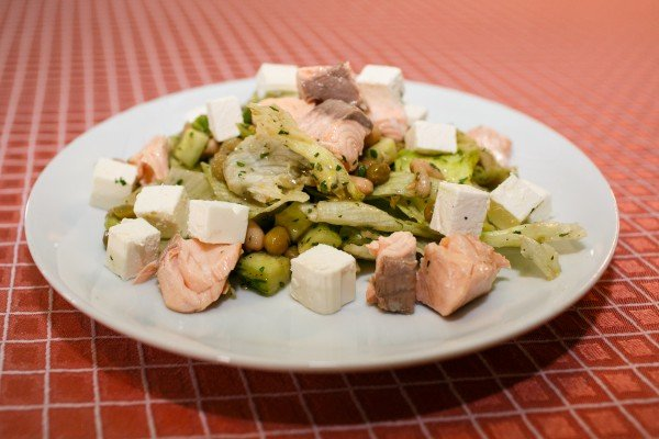норвежский фото салата рецепт