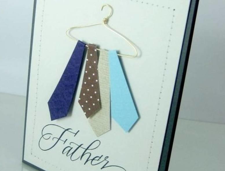 Как сделать открытки своими руками на день рождения папе