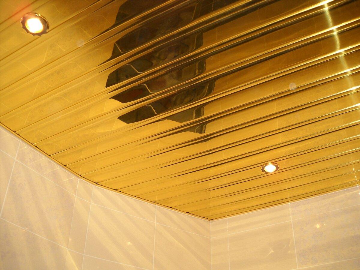 Реечный потолок №6