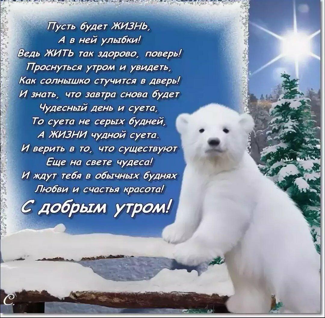 поздравление доброе утро в картинках зимой одна достопримечательность