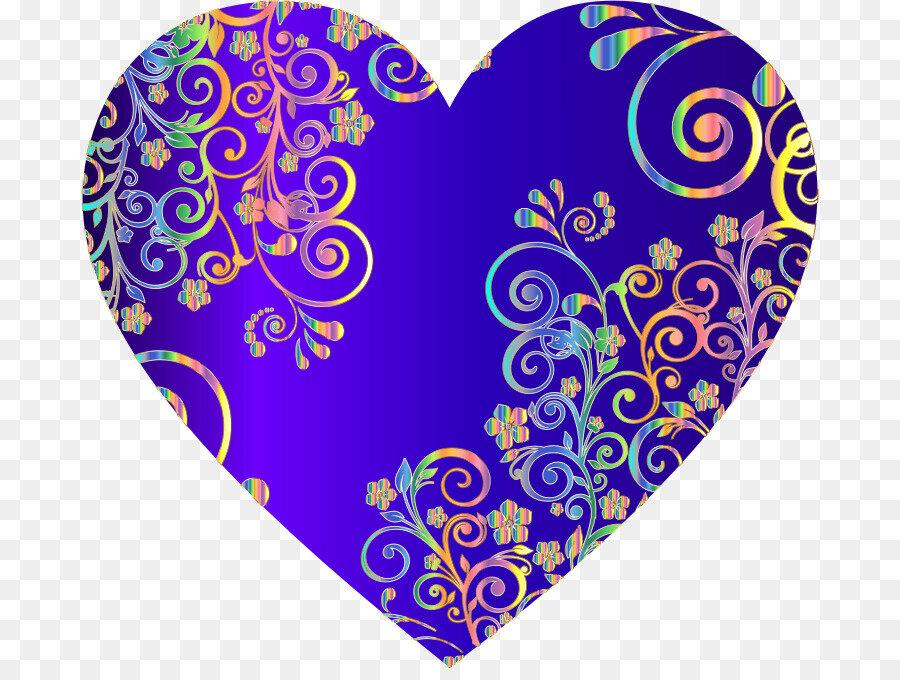 сидят картинки сердечки синего цвета может