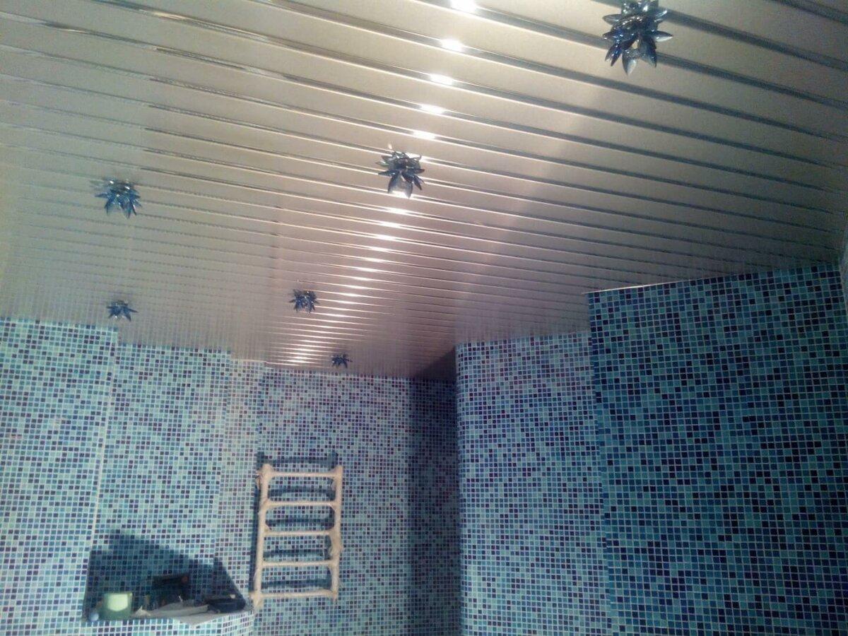 Реечный потолок №65