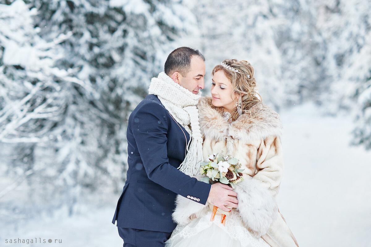 свадебная фотосессия зимой спб в студии силу