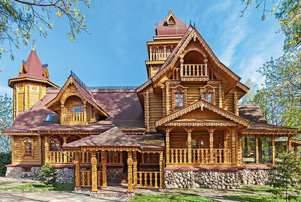 сказочный купеческий дом картинки