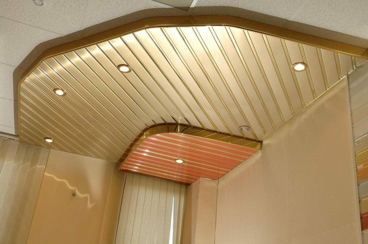Реечный потолок №99