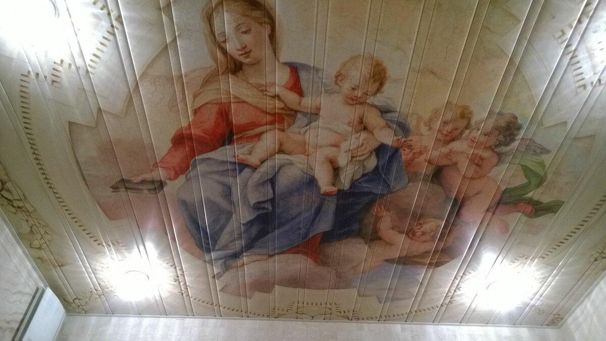 Реечный потолок №117