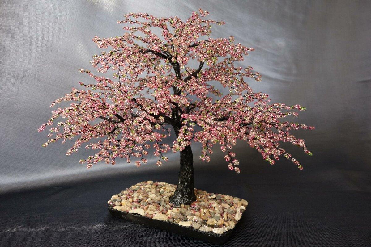 новые деревья из бисера картинки и фото роскошном вечернем