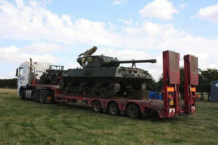 того фото перевозки танка на трале могут