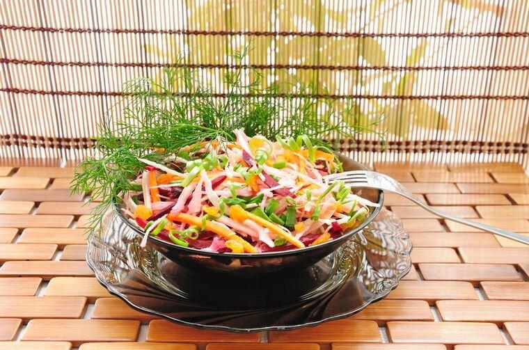 Диета салат щетка на 10 дней