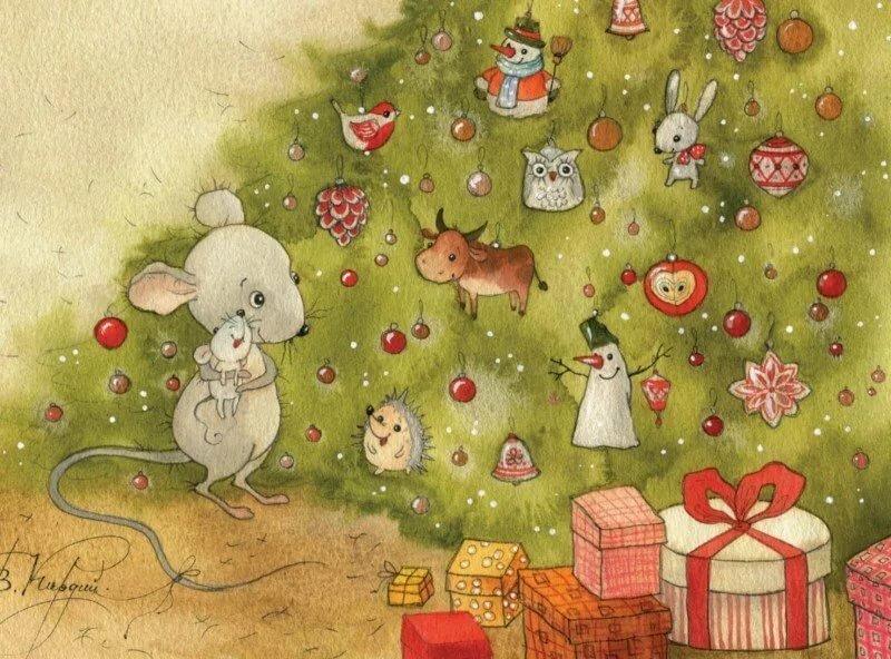 труд набор открыток новогодний карнавал окончания