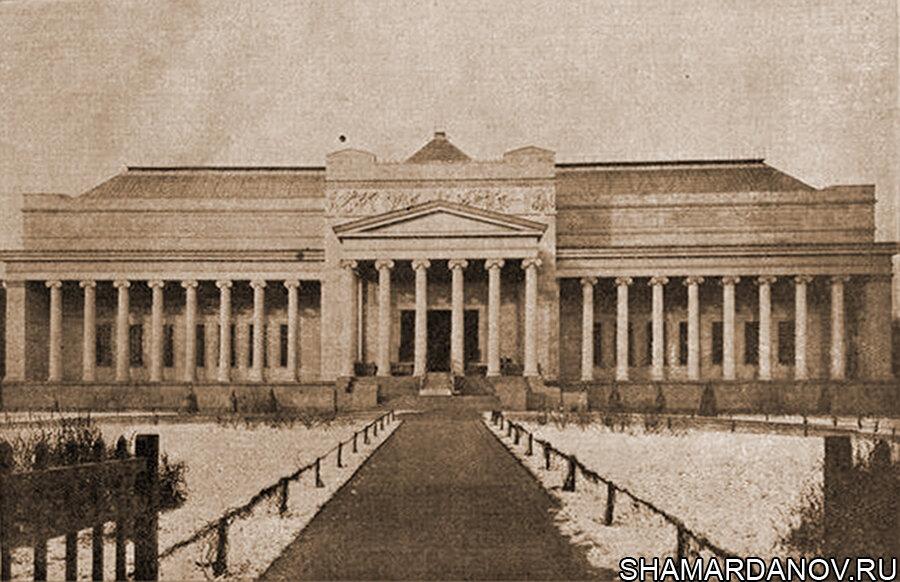 13 июня 1912 года в Москве открыт Музей изящных искусств (сегодня – Государственный музей изобразительных искусств имени А.С. Пушкина)