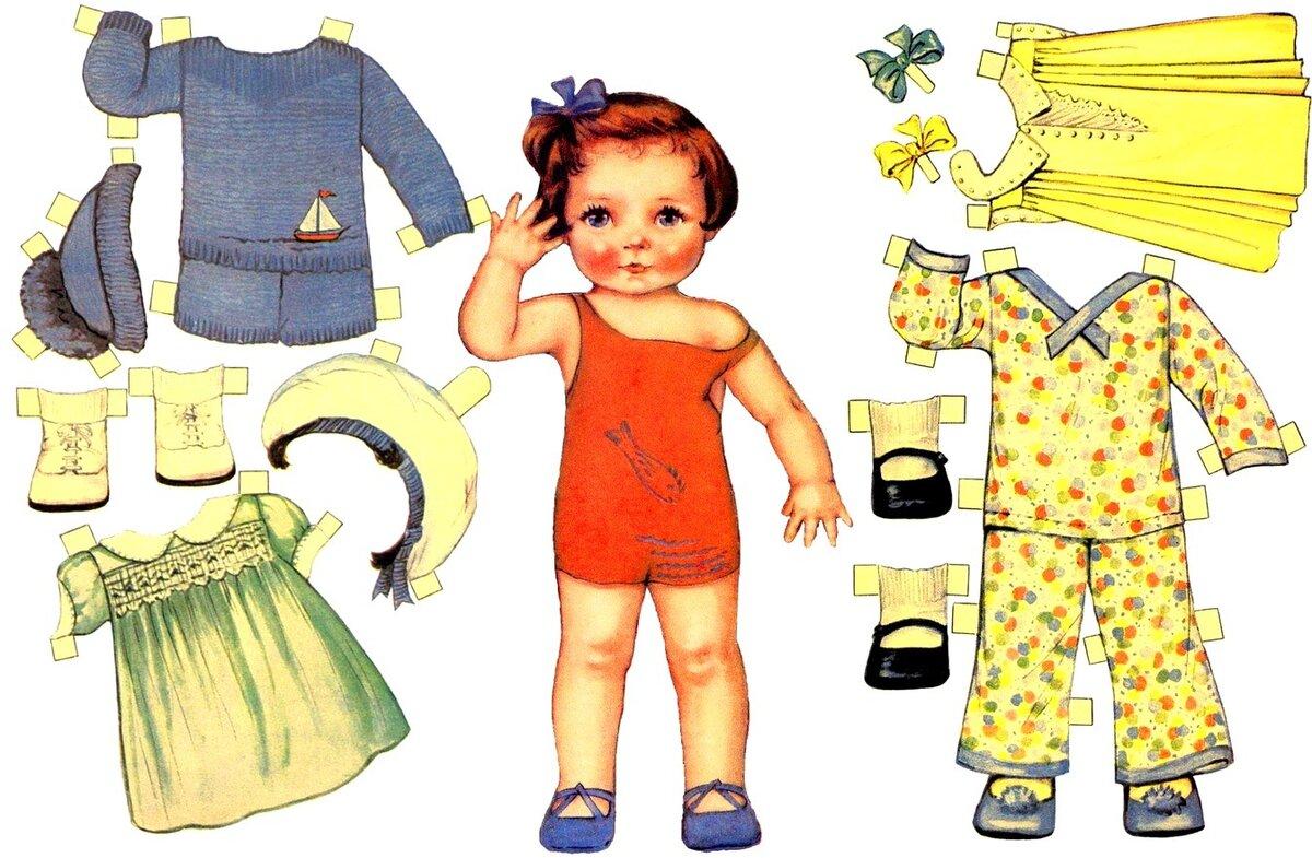 Картинки для детей одежда для куклы