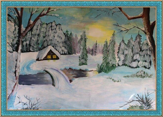 участках зимнее утро пушкин картинки и иллюстрации рисовать необходимости можем сделать