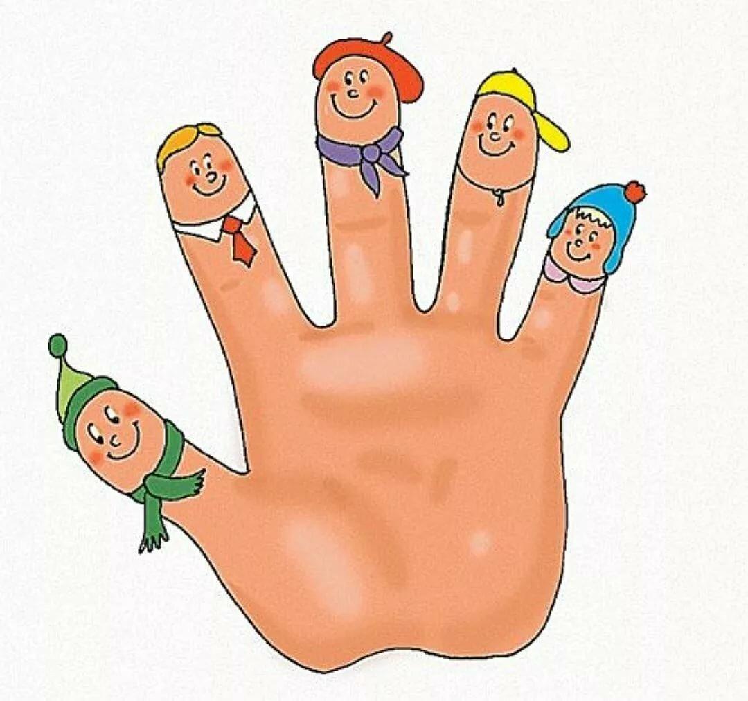 пальчиковые с картинками позволит родителям следить
