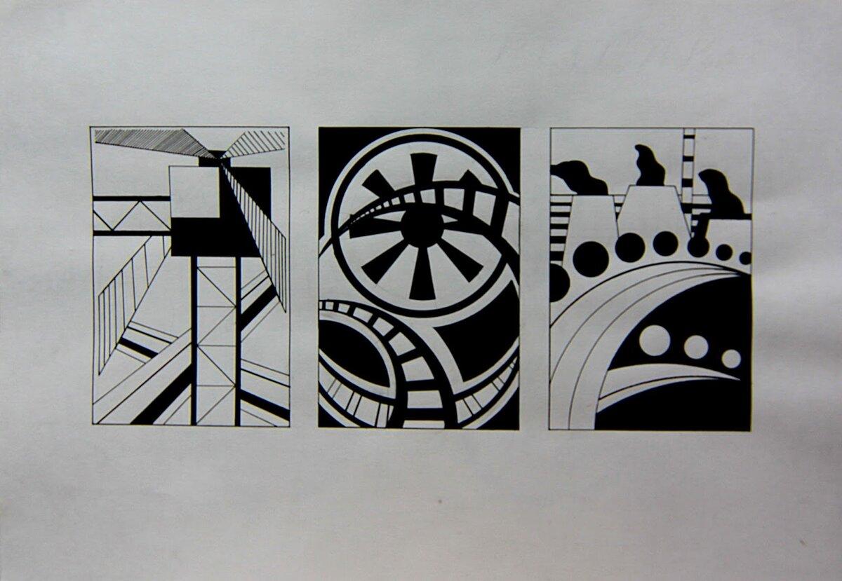 Контраст композиция картинки