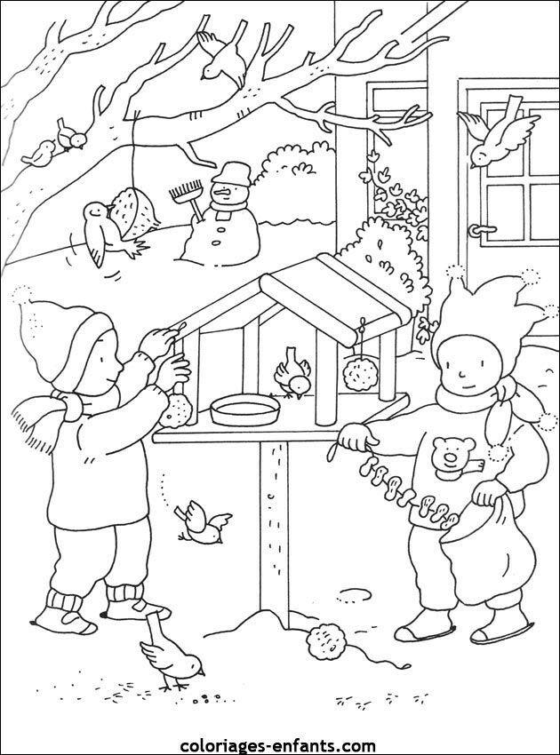 раскраска кормление птиц зимой объявления актуальны, многие